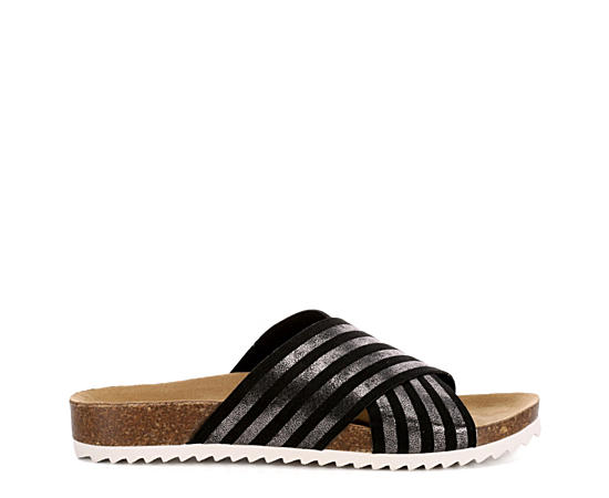 Womens Lulu Footbed Slide Sandal