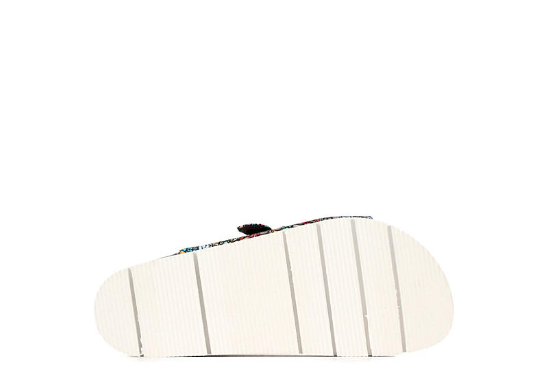 SKECHERS BOBS Womens Bohemian Slide Sandal - MULTICOLOR