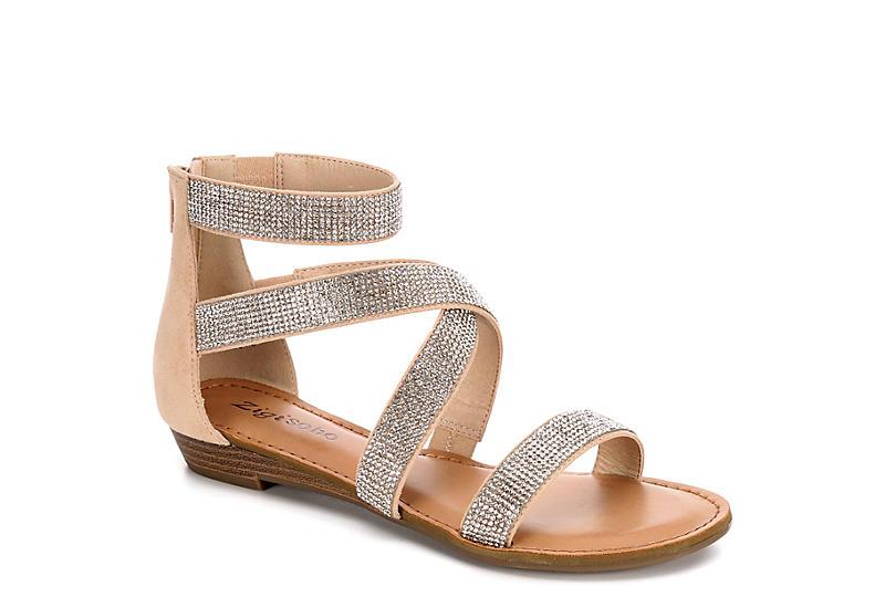 ZIGI SOHO Womens Marvela Flat Sandal - GOLD