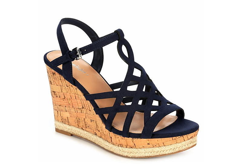 unbeatable price great look great discount for NAVY LIMELIGHT Womens Sonia Wedge Sandal