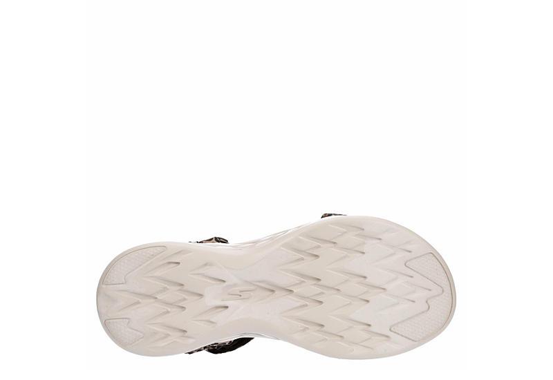 SKECHERS Womens On-the-go 600 Sandal - LEOPARD
