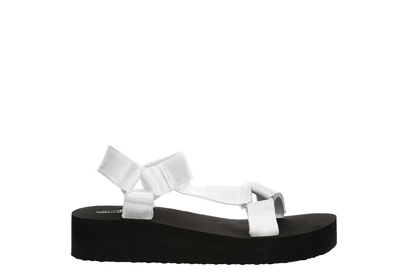 BLUEFIN Womens Sarasota Casual Sandal - WHITE