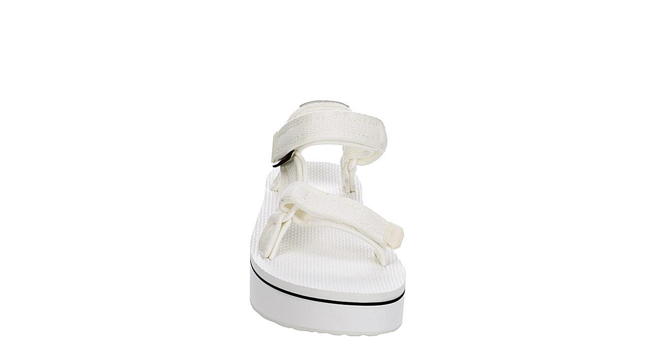 TEVA Womens Flatform Universal Sandal - WHITE