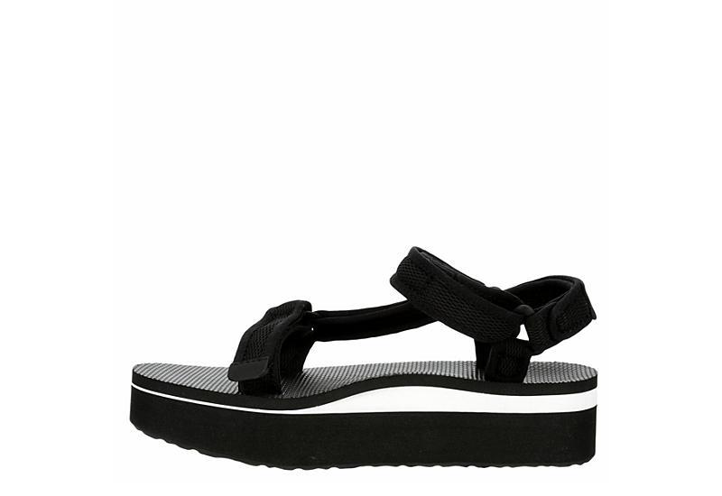 TEVA Womens Flatform Universal Sandal - BLACK
