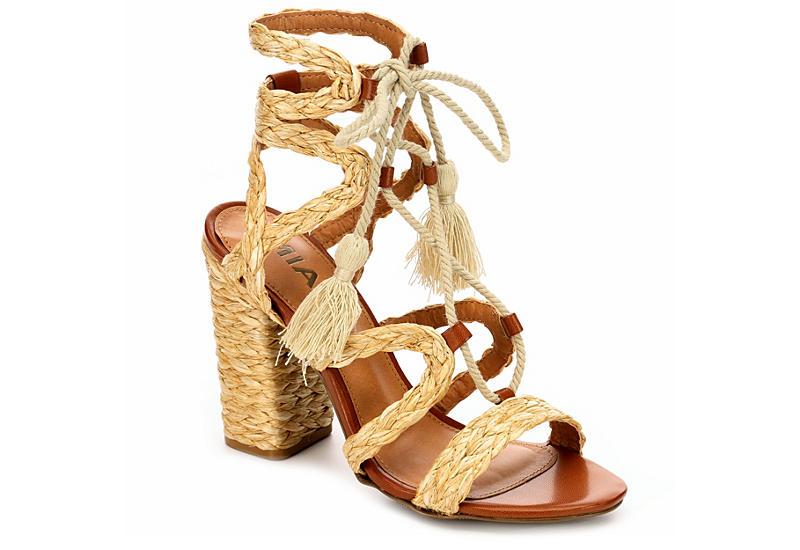 on sale c07e5 87d68 Natural Mia Womens Gigi  Block Heels  Off Broadway Shoes