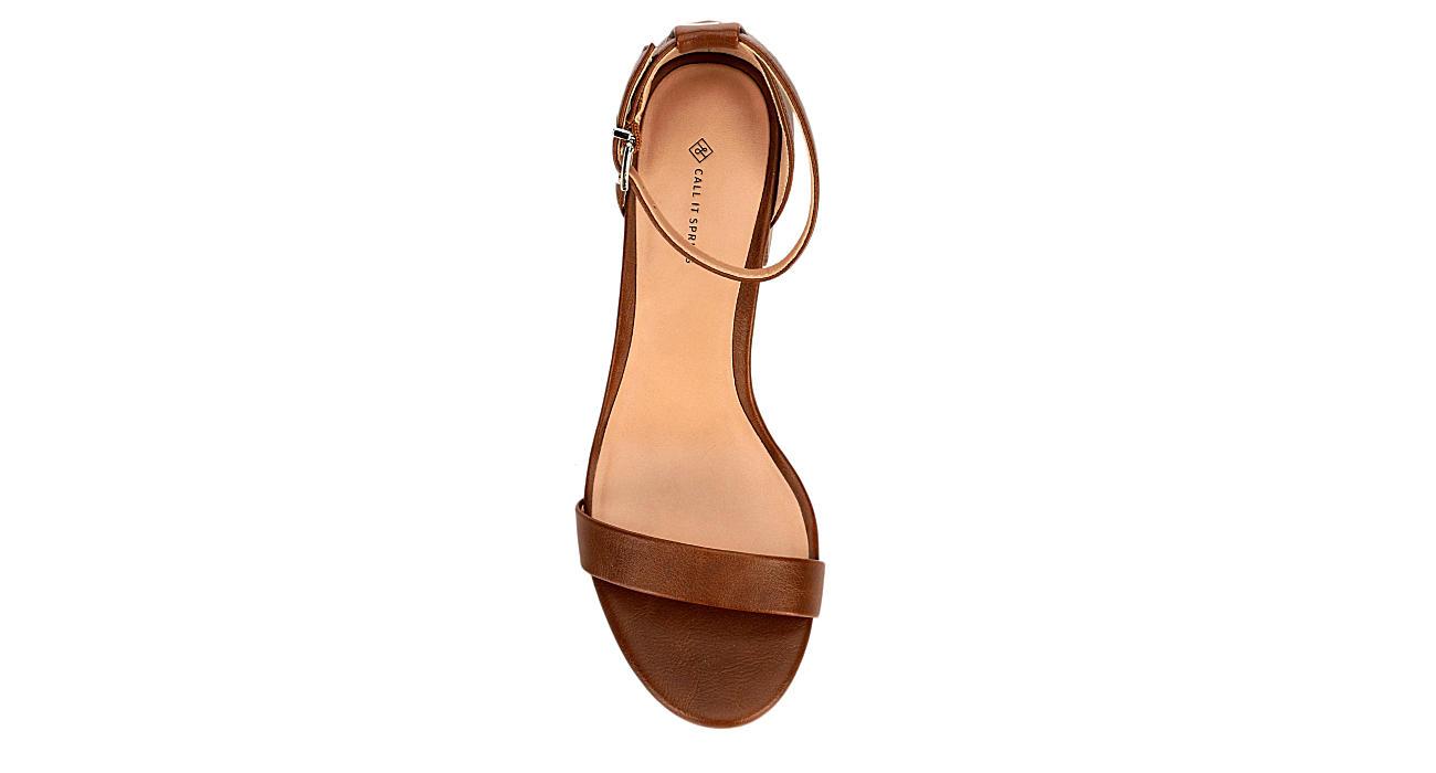 75b81088633c4 Cognac Call It Spring Womens Mynah | Dress | Off Broadway Shoes