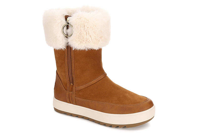 KOOLABURRA by UGG Womens Tynlee Cold Weather Boot - CHESTNUT
