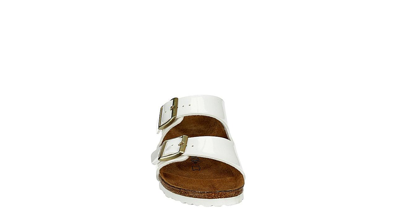 BIRKENSTOCK Womens Arizona Slide Sandal - WHITE