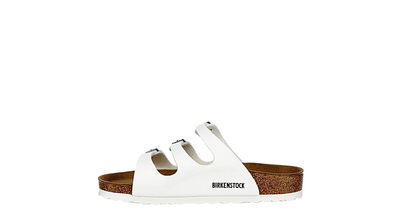 BIRKENSTOCK Womens Florida Slide Sandal - WHITE