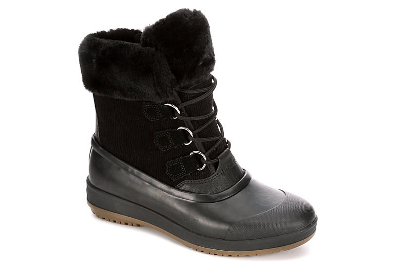 SPERRY Womens Pacifica Alpine Cold Weater Boot - BLACK