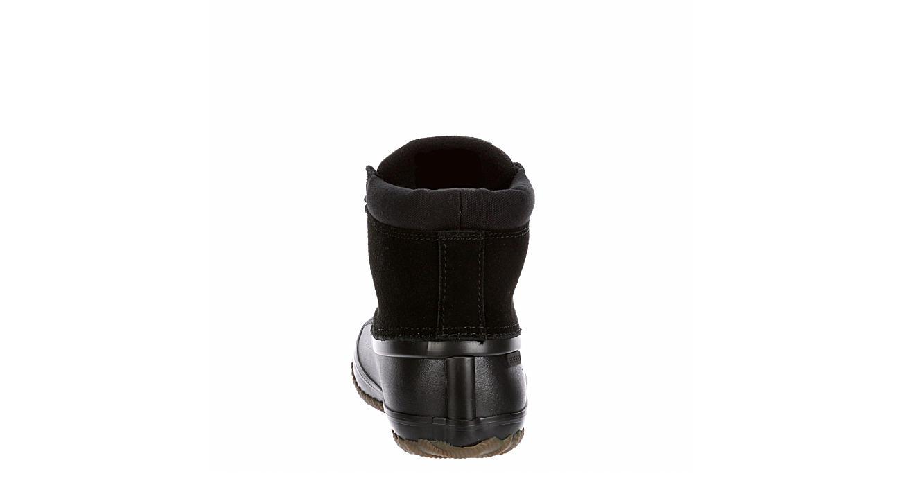 SPERRY Womens Breakwatr Duck Boot - BLACK