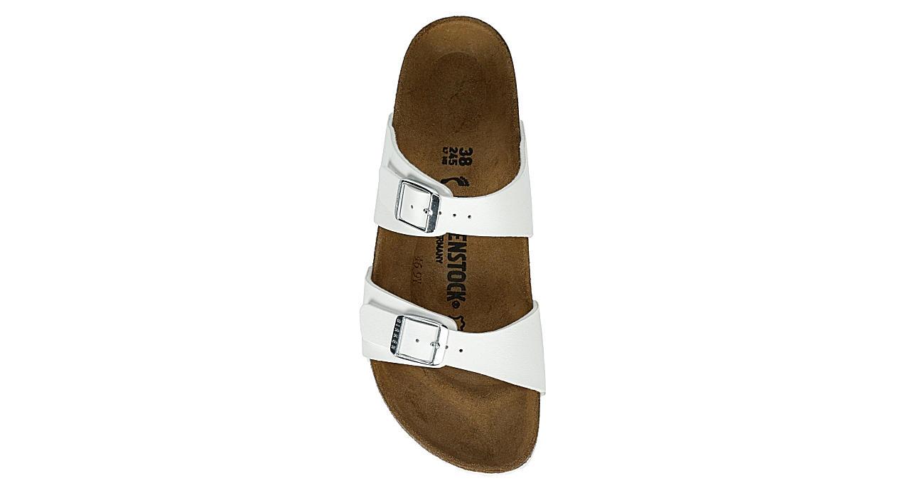 BIRKENSTOCK Womens Sydney Soft Footbed Sandal - WHITE