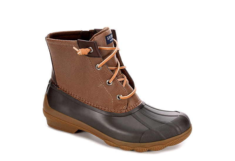 b346cd5ed Brown Sperry Syren Gulf Women's Duck Boots | Off Broadway Shoes