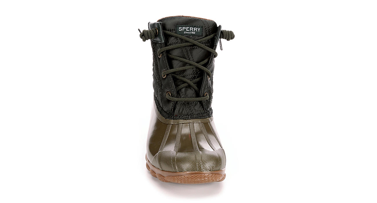 SPERRY Womens Syren Gulf Duck Boot - OLIVE