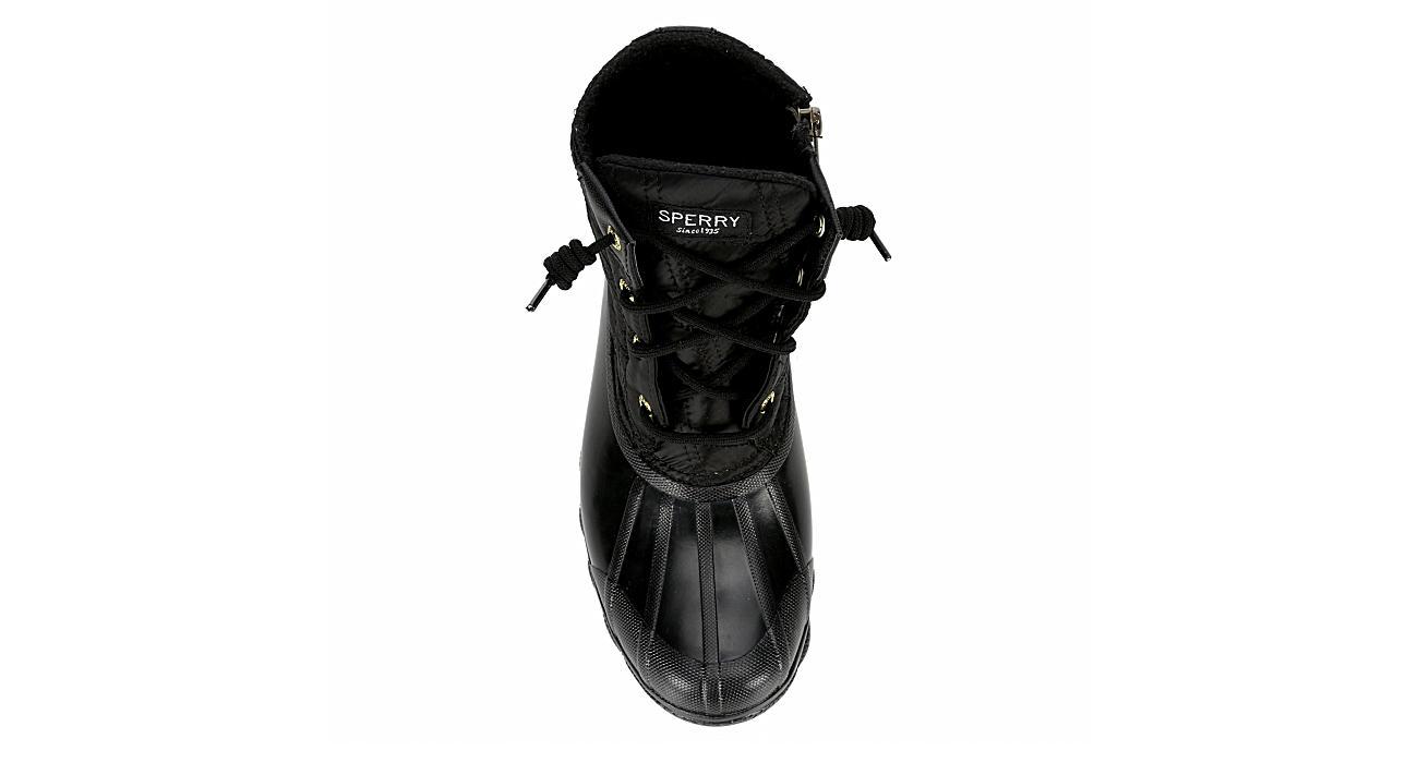 SPERRY Womens Syren Gulf Duck Boot - BLACK