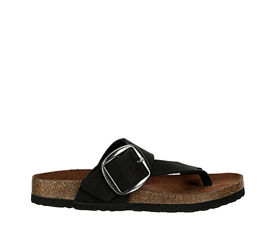 Womens Harley Footbed Slide Sandal