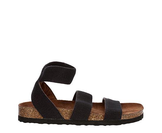 Womens Harlequin Footbed Sandal