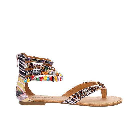 Womens Talisa Flat Thong Sandal