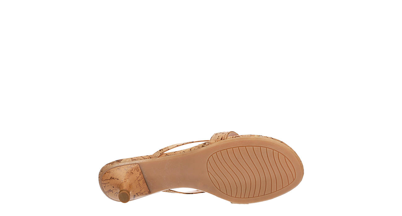 XAPPEAL Womens Avita Thong Sandal - NATURAL