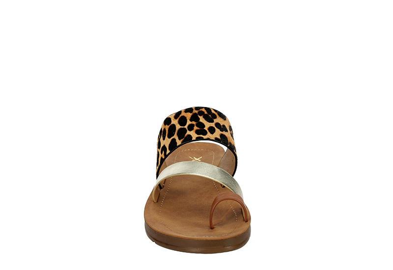 XAPPEAL Womens Carley Sandal - LEOPARD