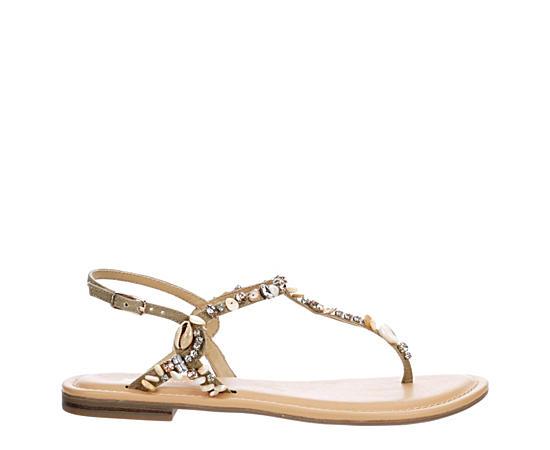 Womens Mykonos Flat Sandal