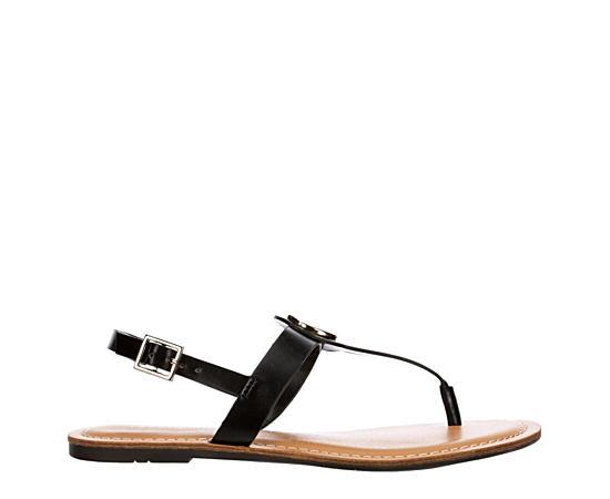 Womens Ladene Flat Sandal