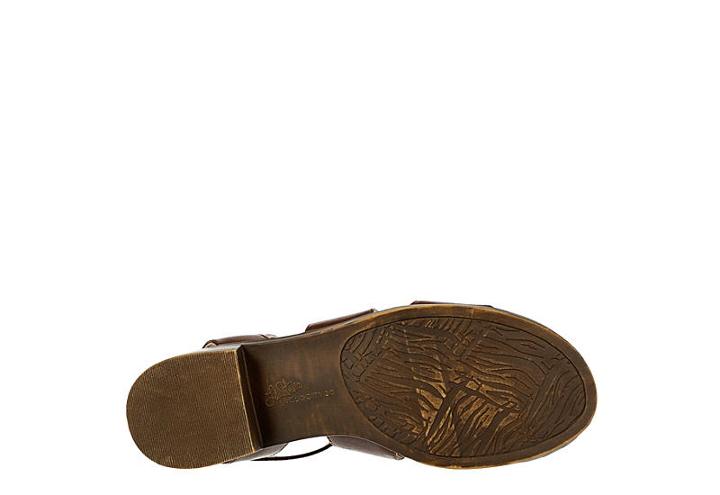 LIFESTRIDE Womens Banning Sandal - DARK TAN