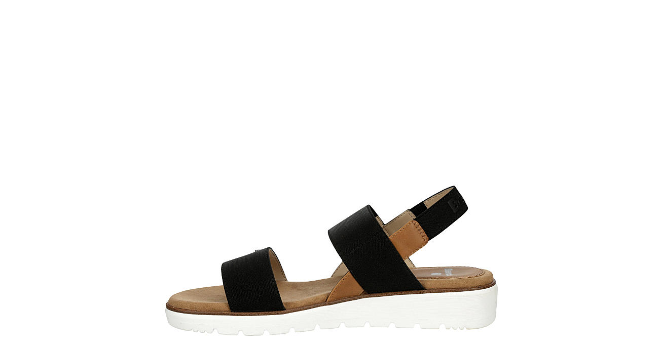 BENCH Womens Kaity Platform Sandal - BLACK