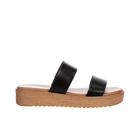 Womens Dash Platform Slide Sandal