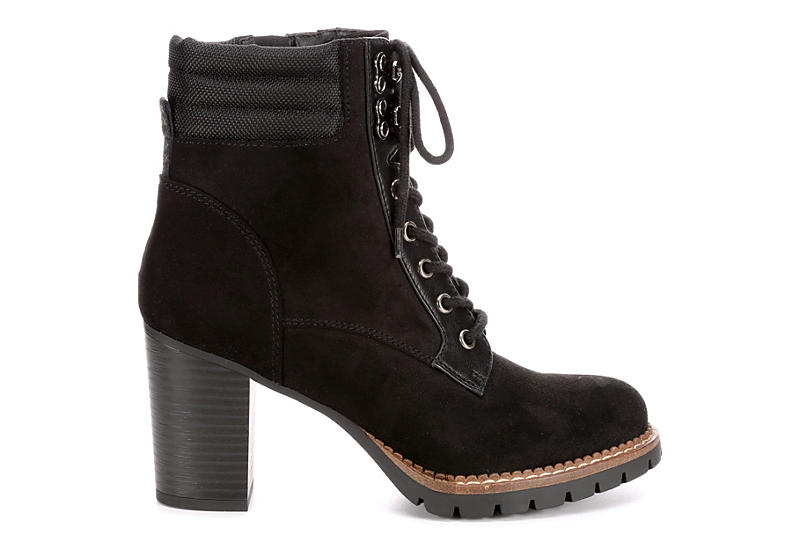 SOPHIE17 Womens Hunter Laceup Boot - BLACK