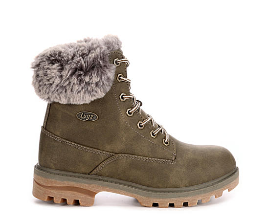Womens Empire Hi Fur