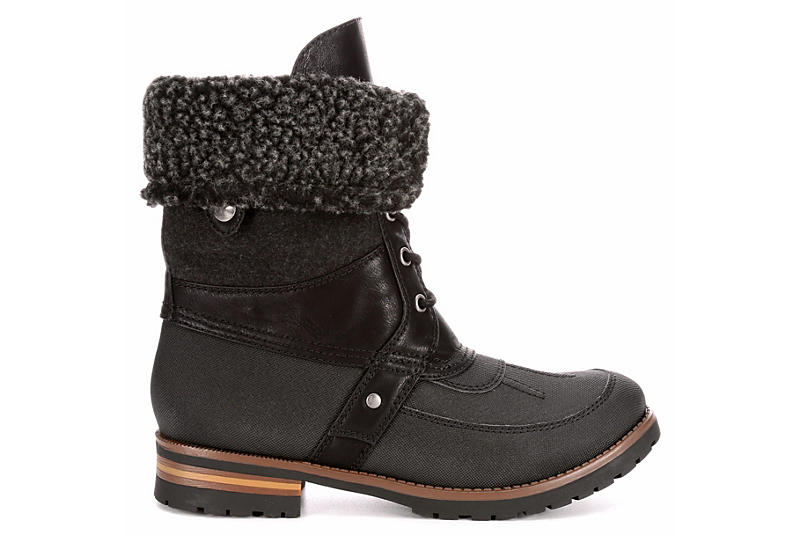 ROCK & CANDY Womens Fact Diamond - BLACK