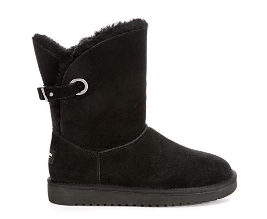 Womens Remley Short Fur Boot