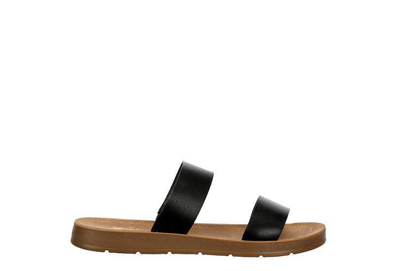 XAPPEAL Womens Kyley Slide Sandal - BLACK