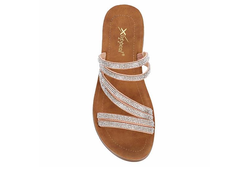 XAPPEAL Womens Scarlett Slide Sandal - BLUSH