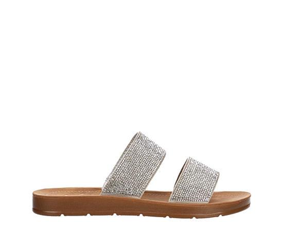 Womens Dazzle Slide Sandal