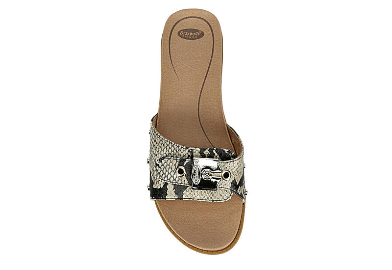 DR. SCHOLL'S Womens Originalist Slide Sandal - BLACK