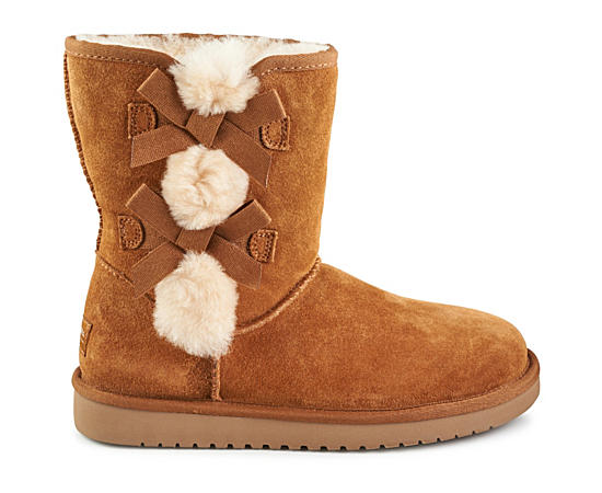 Womens Victoria Short Fur Boot