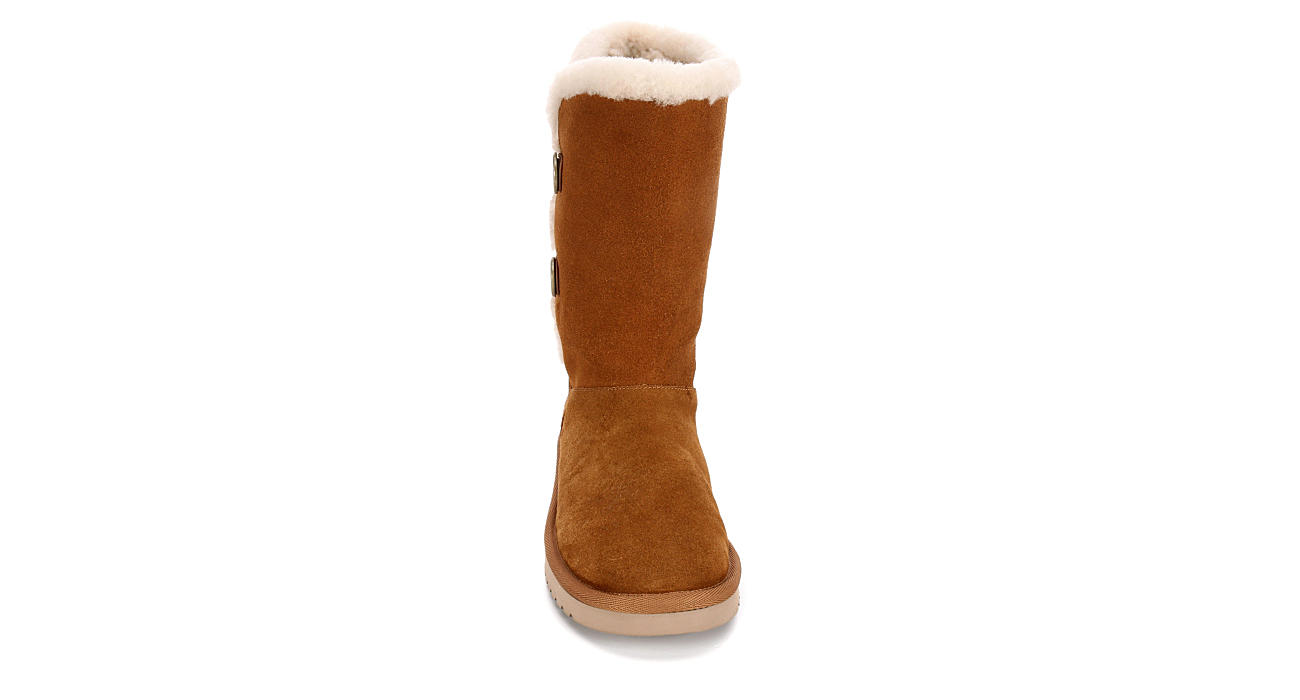 KOOLABURRA by UGG Womens Kinslei Tall - CHESTNUT
