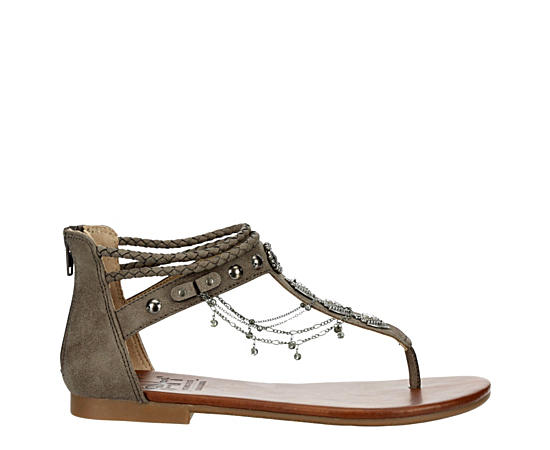 Womens Covina Flat Thong Sandal