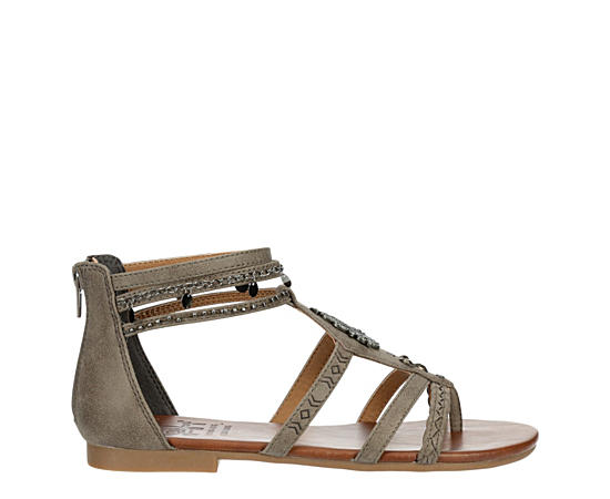 Womens Emit Flat Gladiator Sandal