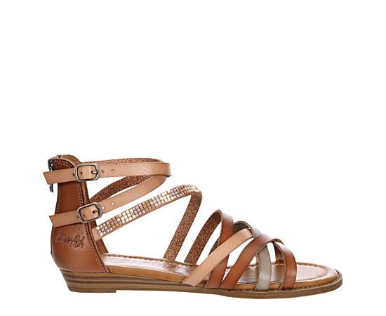 Womens Brianne Flat Sandal