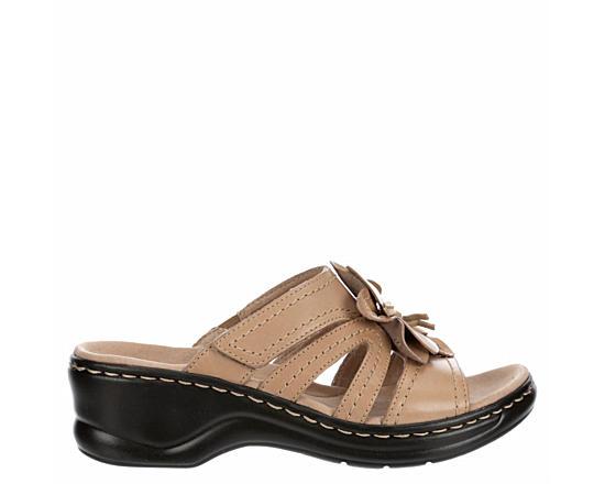 Womens Lexi Opal Wedge Slide Sandal