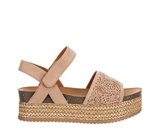 Womens Istael Espadrille Platform Sandal