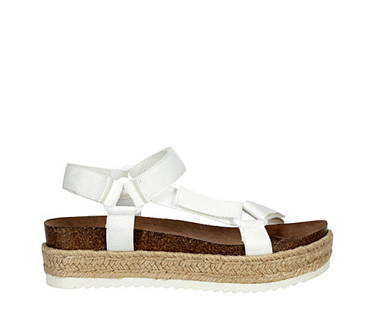 Womens Cambridge Espadrille Platform Wedge Sandal