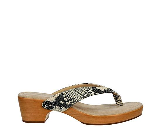 Womens Saassy Thong Sandal