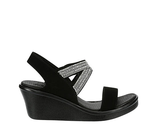 Womens Rumble On Chart Topper Wedge Sandal