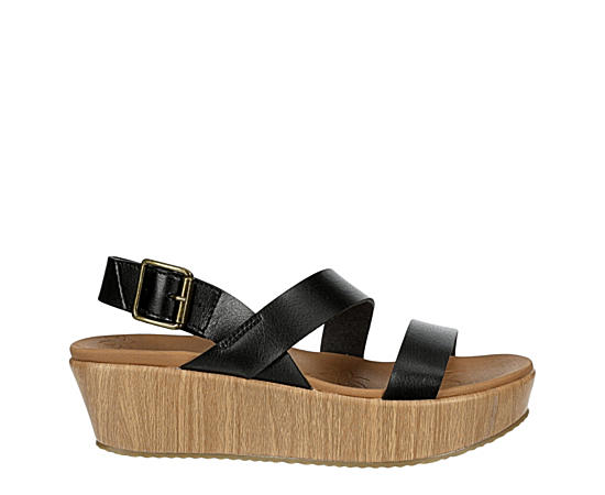 Womens Becka Fun Mixer Wedge Sandal
