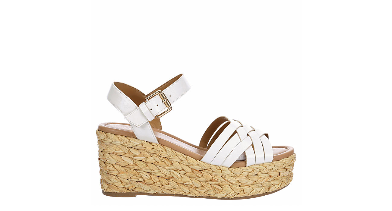 LIMELIGHT Womens Tropez Wedge Sandal - WHITE