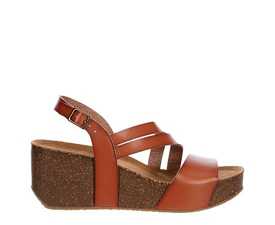 Womens Dixiee Wegde Footbed Sandal